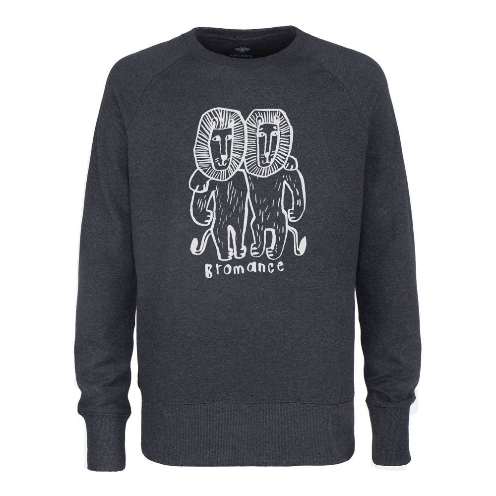 Bromance sweater unisex Anthracite
