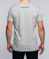 Grey men's Too Tired t-shirt