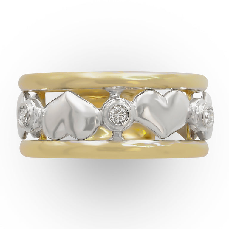 Italian-made Heart Ring