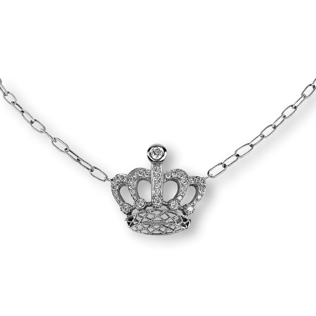 Diamond Crown Pendant