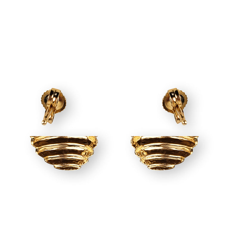 14kt Yellow Gold Earrings