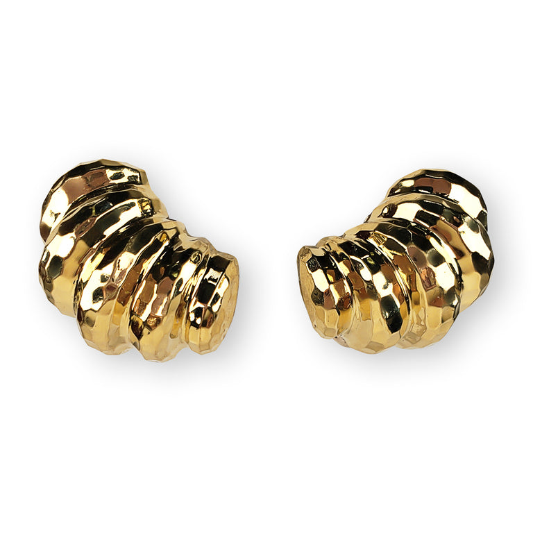 Italian-made 18kt Gold Earrings