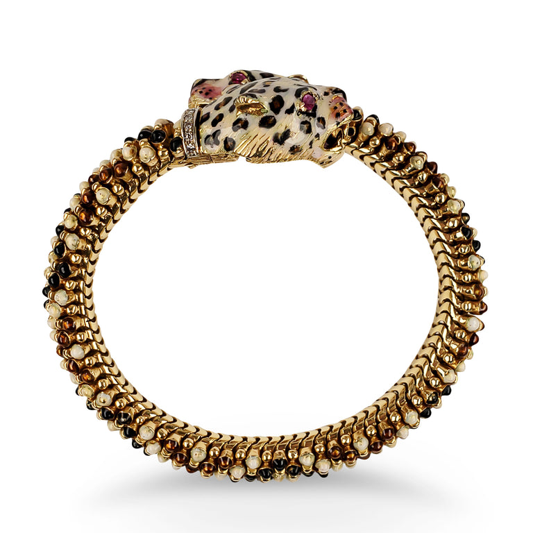 Jaguar Gold Cuff