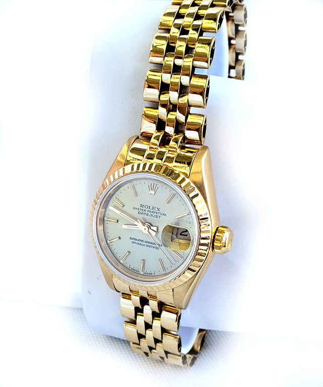 Rolex Ladies 18kt Yellow Gold, 26mm