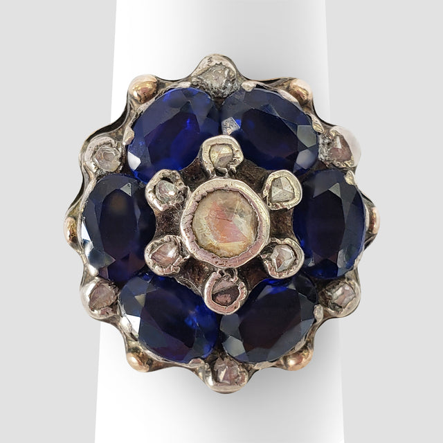 Vintage Oval Sapphire Ring