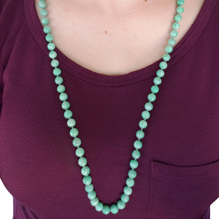 Jade Bead Necklace