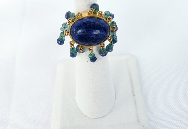 Blue Lapis Ring