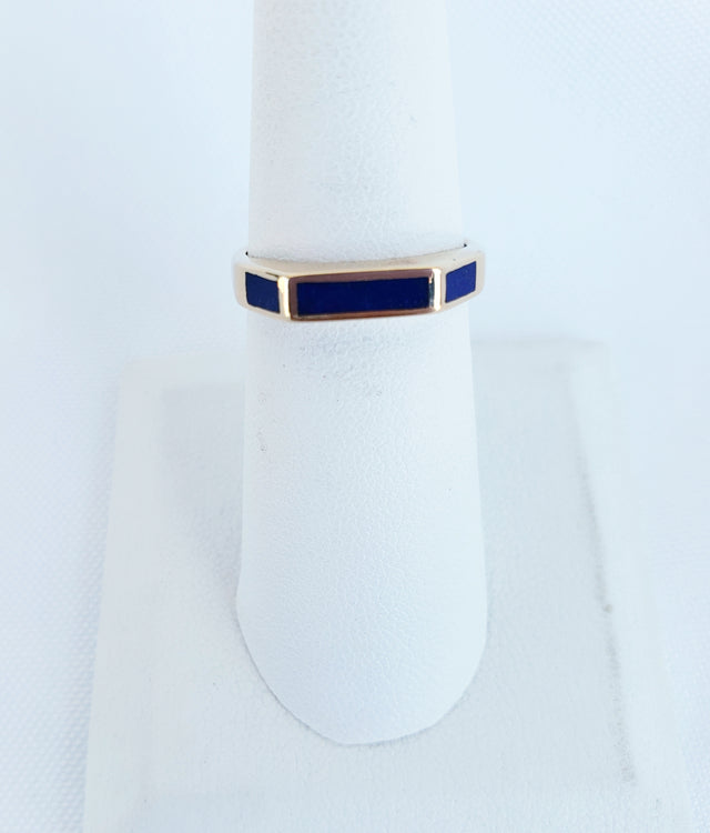 Enamel French Ring