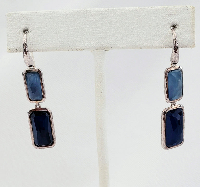 Ippolita Sterling Silver Rock Candy Rectangle Earring