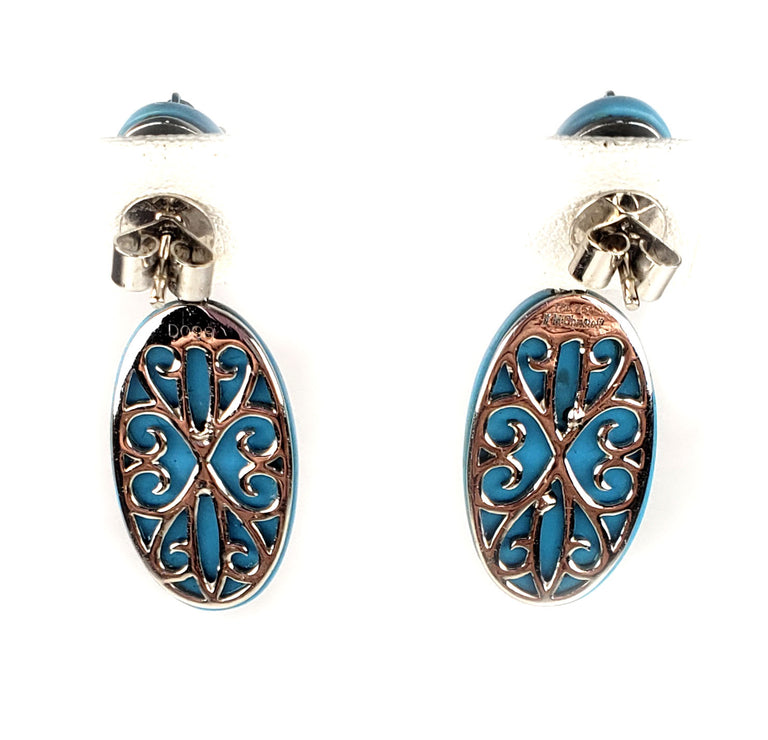 Michael Christoff Turquoise Earrings