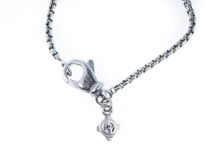 David Yurman Diamond Pendant and Chain