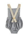 Natural rainbow jumpsuit Light gray