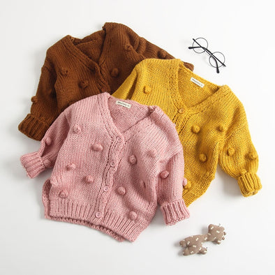 Little ball cardigan