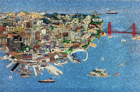 San Francisco Puzzle - OUT OF STOCK