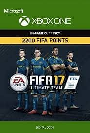 FIFA 17 - 2200 FUT POINTS (XBOX ONE) (INSTANT DELIVERY) - (Official Website) - (Digital Download)