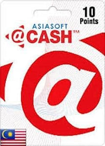 ASIASOFT @CASH 10 MY POINTS (INSTANT DELIVERY) - (PC) - (Official Website) - (Digital Download)