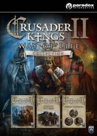Crusader Kings II Collection 2014 - (PC) (Steam) (INSTANT DELIVERY) - (PC) - (Official Website) - (Digital Download)