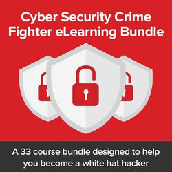 Cyber Security Crime Fighter eLearning Bundle E-course - (PC) - (Official Website) - (Digital Download)