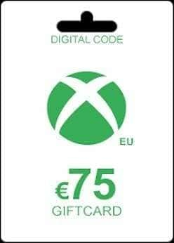 XBOX EURO-75 EUR - (REGION:EUROPE) (INSTANT DELIVERY) - (Official Website) - (Digital Download)