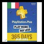 PLAYSTATION NETWORK CARD (PSN) 365 DAYS (ITALIAN) (INSTANT DELIVERY) - (Official Website) - (Digital Download) - DIGICODES