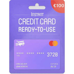 Prepaid Mastercard Euro-100 EUR - (PC) - (Official Website) - (Digital Download)