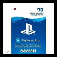 PSN $70 (Qatar) (INSTANT DELIVERY) - (Official Website) - (Digital Download) - DIGICODES