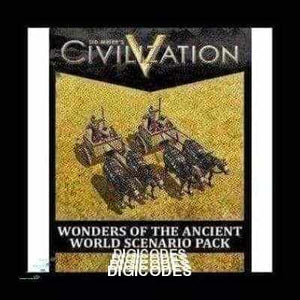 SID MEIER'S CIVILIZATION V - WONDERS OF THE ANCIENT WORLD SCENARIO PACK (DLC) (INSTANT DELIVERY) - (PC) - (Official Website) - (Digital Download) - DIGICODES
