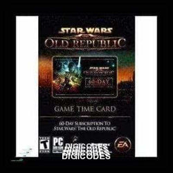 Star Wars: The Old Republic (SWTOR) 60-day Time Card (INSTANT DELIVERY) - (PC) - (Official Website) - (Digital Download) - DIGICODES