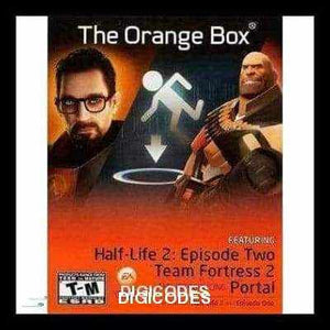 THE ORANGE BOX (INSTANT DELIVERY) - (PC) - (Official Website) - (Digital Download) - DIGICODES
