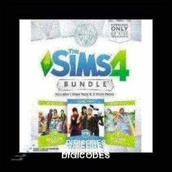 The Sims 4 - Bundle Pack 4 (INSTANT DELIVERY) - (PC) - (Official Website) - (Digital Download) - DIGICODES
