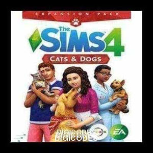 THE SIMS 4: CATS & DOGS (INSTANT DELIVERY) - (PC) - (Official Website) - (Digital Download) - DIGICODES