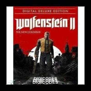 WOLFENSTEIN II: THE NEW COLOSSUS (DELUXE EDITION) (INSTANT DELIVERY) - (PC) - (Official Website) - (Digital Download) - DIGICODES