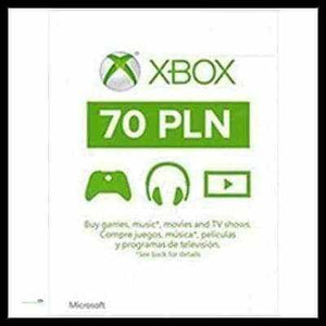 XBOX LIVE 70 POLAND (INSTANT DELIVERY) - (Official Website) - (Digital Download) - DIGICODES