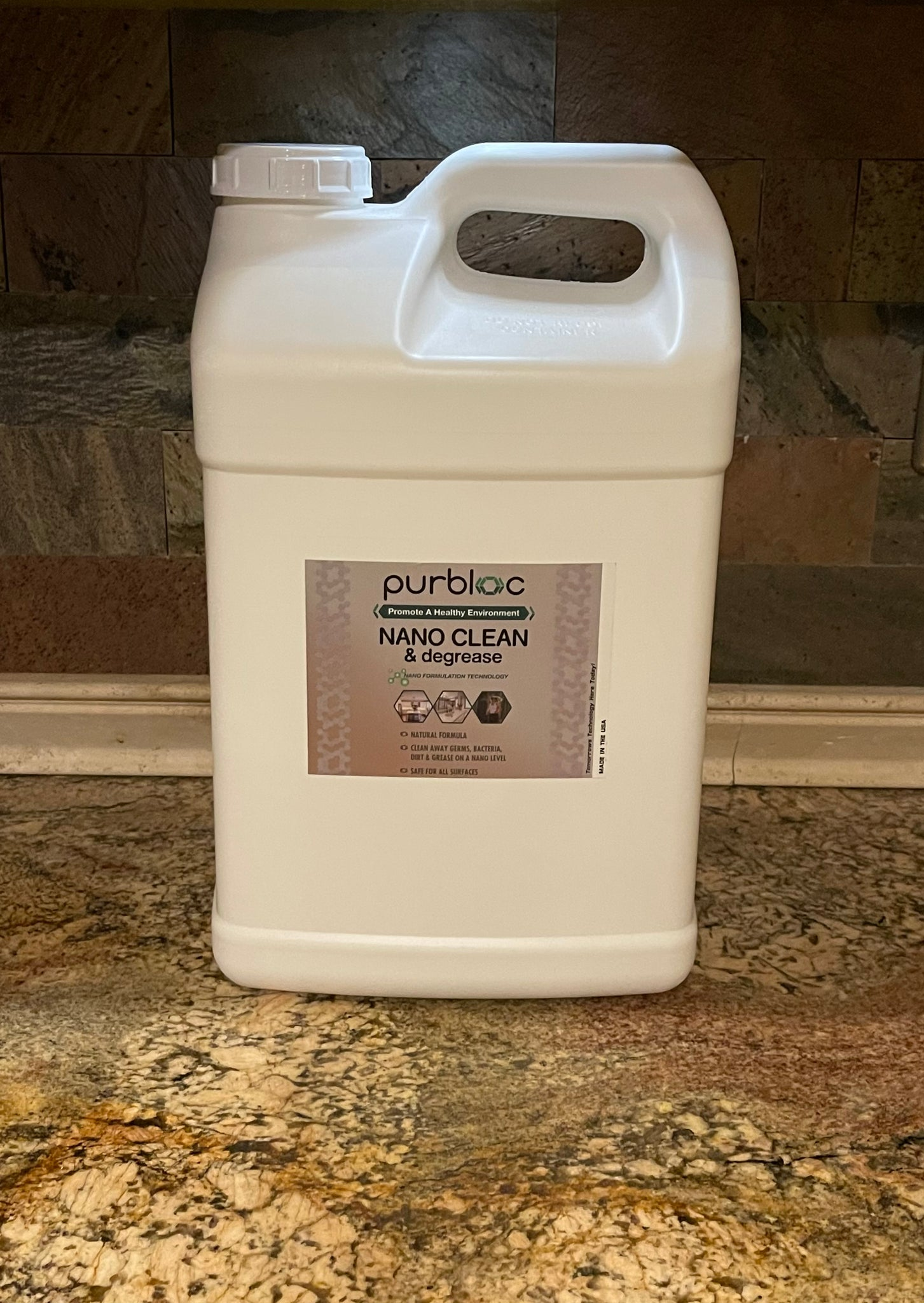 NANO CLEAN & degrease RTU (2.5 Gallon Refill)