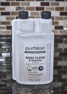 NANO CLEAN & degrease (Quart Concentrate)