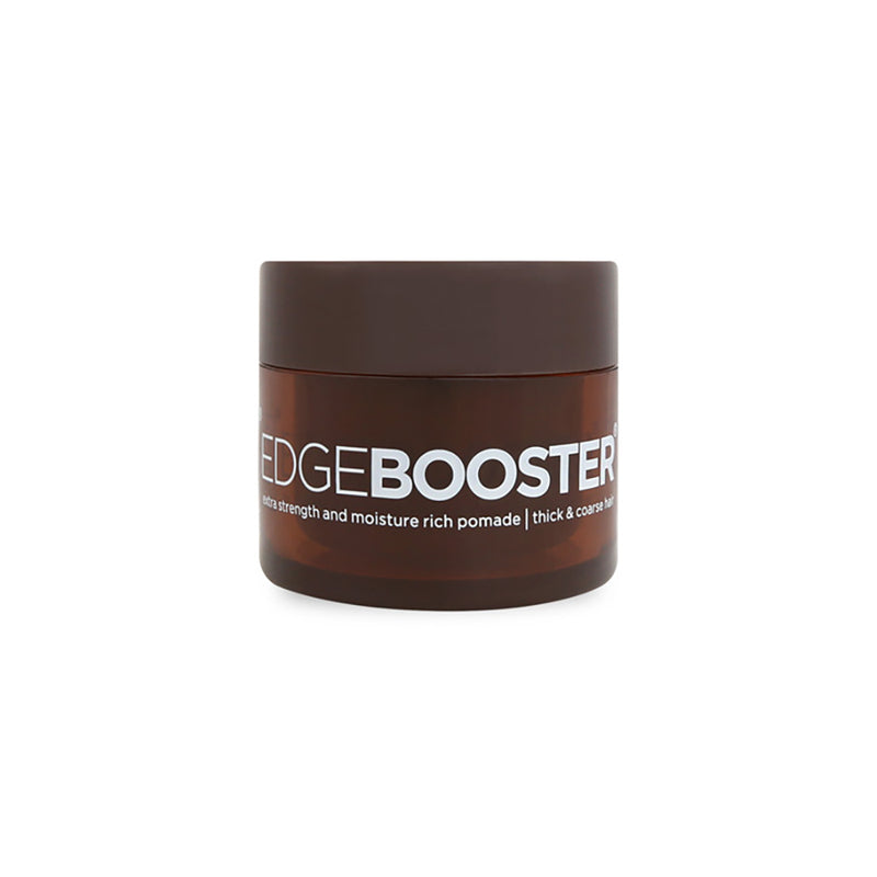Style Factor Edge Booster MINI Extra Strength Moisture Rich Pomade for Thick Coarse Hair 0.85 Oz | Hair Crown Beauty Supply