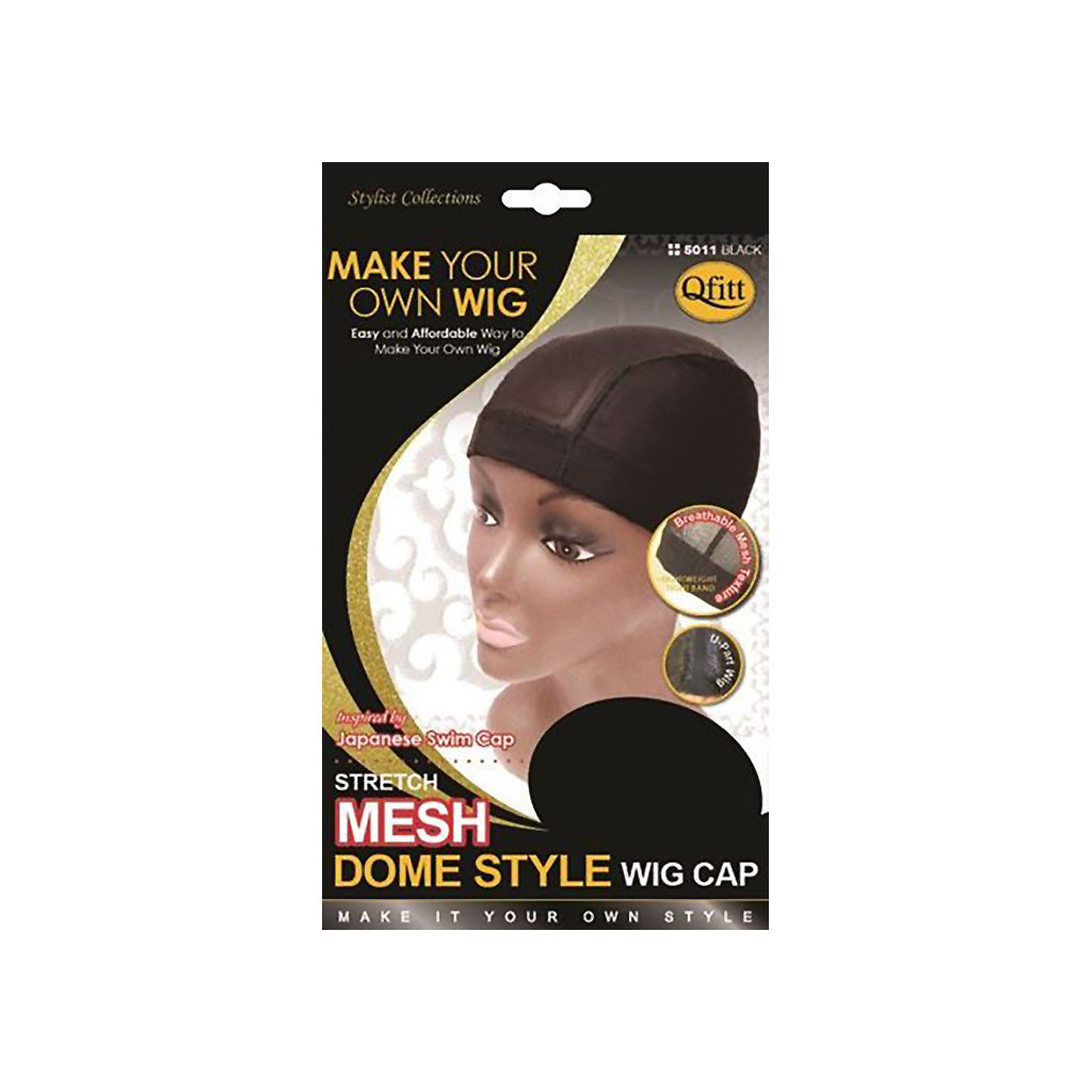 Qfitt Stretch Mesh Dome Style Wig Cap - Hair Crown Beauty Supply