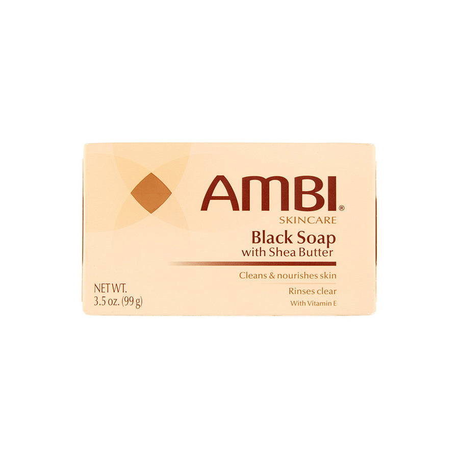 AMBI Black Soap with Shea Butter - Hair Crown Beauty Supply