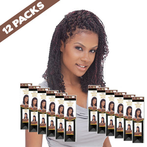 (12 Pack) FreeTress EQUAL Jamaican Twist Braid - Hair Crown Beauty Supply