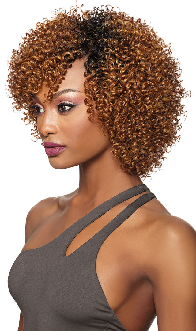 Outre Purple Pack Big Beautiful Hair 3c Whirly - Hair Crown