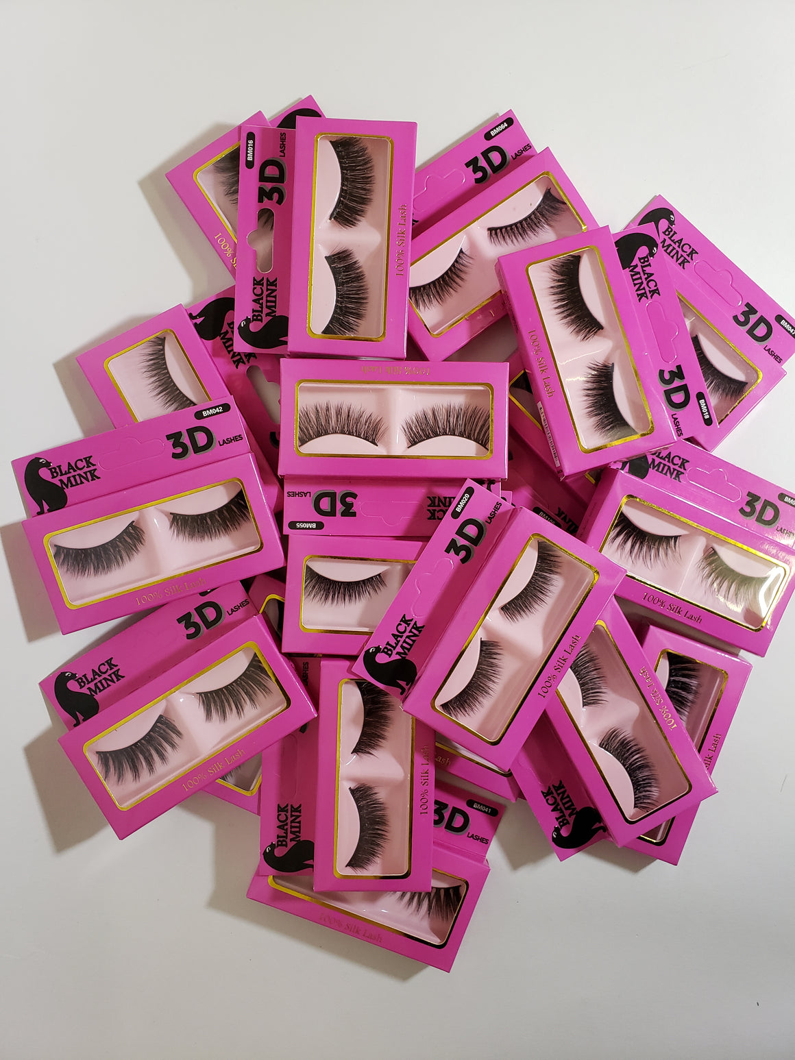 Black Mink 3D Lashes - Hair Crown Beauty Supply