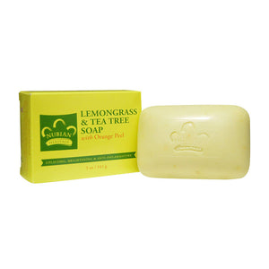 Nubian Heritage Lemongrass and Tea Tree Soap - Hair Crown Beauty Supply