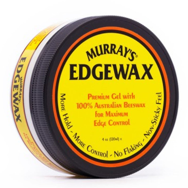 Murray's Edgewax Premium Gel with 100% Australian Beeswax 4oz - Hair Crown Beauty Supply