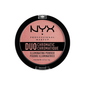 NYX Duo Chromatic Illuminating Powder - Hair Crown Beauty Supply