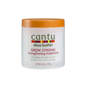 Cantu Shea Butter Grow Strong Strengthening Treatment - Hair Crown Beauty Supply