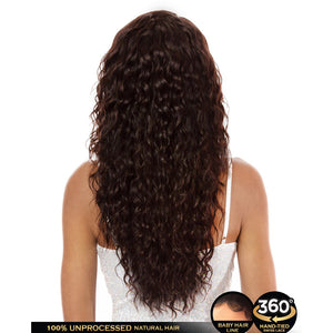 "Hair Topic Genuine Brazilian Human Hair 360 Lace Wig 801 24"" - Hair Crown Beauty Supply"
