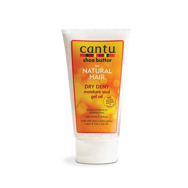 Cantu Shea Butter Dry Deny Moisture Seal Gel  Oil - Hair Crown Beauty Supply