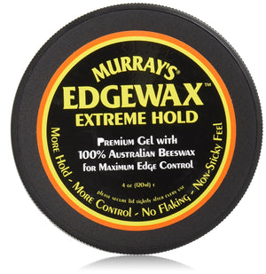 Murrays Edgewax Extreme Hold Gel with 100% Australian Beeswax - Hair Crown Beauty Supply