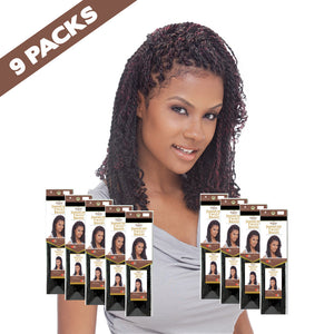 (9 pack) FreeTress EQUAL Jamaican Twist Braid - Hair Crown Beauty Supply