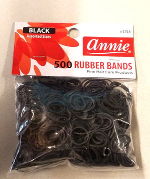 ANNIE 3158 RUBBER BAND 500 - Hair Crown Beauty Supply